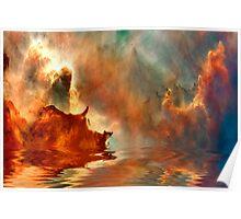 Mystical Lagoon Poster