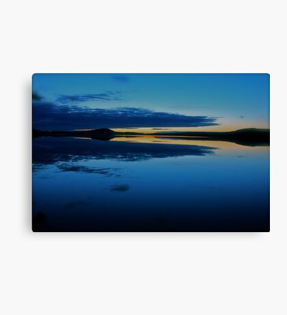 Nightfall  - Gallo . Sweden . by Brown Sugar . Views (509) . Vavs (2) . has been FEATURED in Lakes & Inland Waterways ! Canvas Print