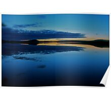 Nightfall  - Gallo . Sweden . by Brown Sugar . Views (509) . Vavs (2) . has been FEATURED in Lakes & Inland Waterways ! Poster