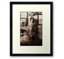 the butterflies of my childhood were black and white Framed Print