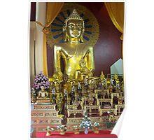 Buddha Altar Poster