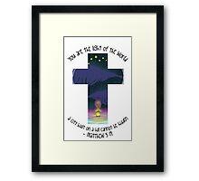 Matthew 5:14 Framed Print