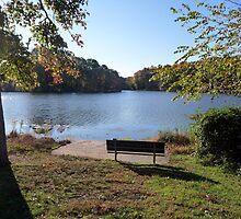 Come sit with me beside Greenbelt Lake 3 by nealbarnett