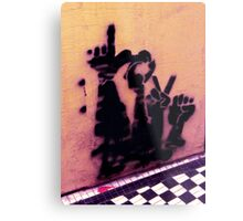 Sign Language Metal Print