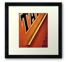 Handrail To Heaven Framed Print