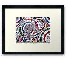 Across the Sky Framed Print