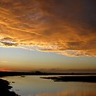 Stormy Sunset by Angel LaCanfora