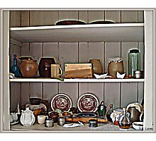 Aunt Mary's Pantry Photographic Print