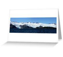 Blackstone Glacier Greeting Card