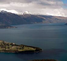 Queenstown, New Zealand by Sue Wickham