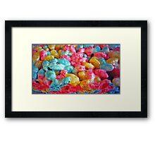 Marshmallow Treat Framed Print