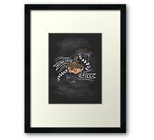 Pumpkaboo Spice  Framed Print