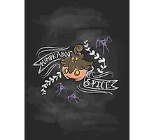 Pumpkaboo Spice  Photographic Print