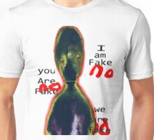 Alien Existentialism and the Annoying Third Eye Inverted Unisex T-Shirt