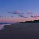 kawana beach at sunset by sharpbokeh