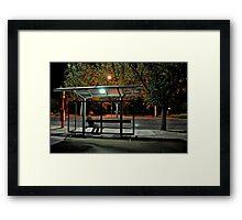 City Commuter Framed Print