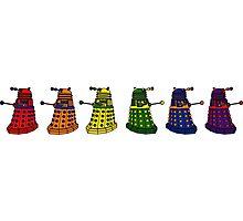 The Grateful Daleks (No Text) Photographic Print