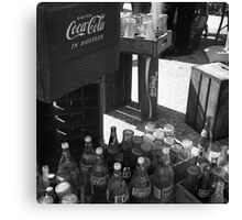 Antique Coke Canvas Print