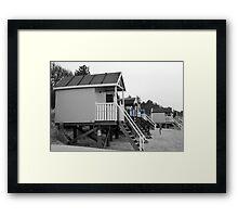 Beach Huts at Wells-Next-the Sea, Norfolk Framed Print