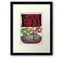 One Way of Life Framed Print