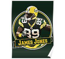 James Jones - Green Bay Packers Poster