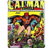 "Vintage CAT-MAN Comic BOOK ""He's no pussy-cat"" iPad Case/Skin"