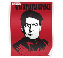 Winning Charlie Sheen Poster Poster