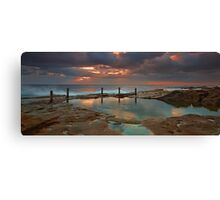 Ivo Rowe Pool - Sunrise Canvas Print