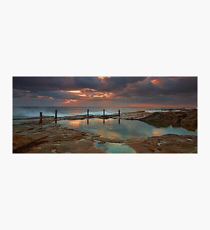 Ivo Rowe Pool - Sunrise Photographic Print