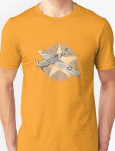 Vintage Flying Airplane Service T-Shirt