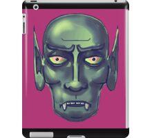 the curse of the vampire iPad Case/Skin
