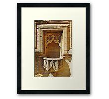 St Mary Magdalene Font Framed Print