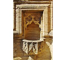 St Mary Magdalene Font Photographic Print