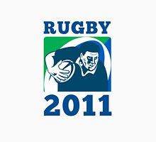 rugby player running with ball world cup 2011 Unisex T-Shirt
