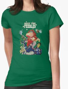 Meet The Feebles Womens Fitted T-Shirt