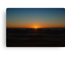 Sunset at the Dunes Canvas Print