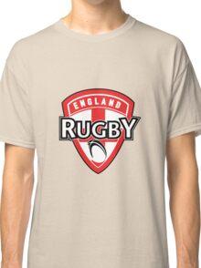 England rugby ball shield flag Classic T-Shirt