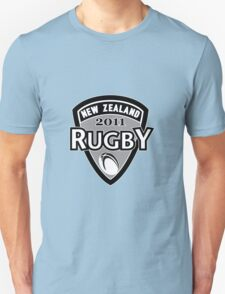 New Zealand rugby world cup 2011 ball shield Unisex T-Shirt