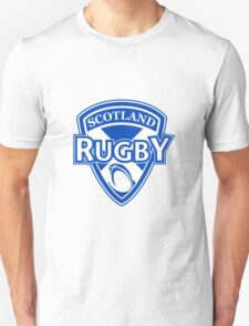 Scotland rugby ball and shield Unisex T-Shirt