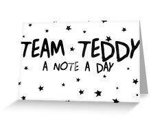 #TEAM TEDDY Greeting Card
