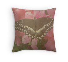 Fluttering Beauty Throw Pillow