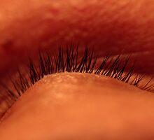 Sleeping eye by Josef Pittner