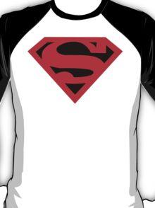 Superman Symbol (Black Background) T-Shirt