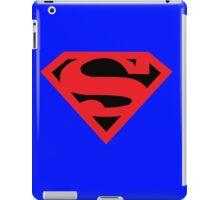 Superman Symbol (Black Background) iPad Case/Skin