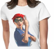 ROSIE RiotGear Womens Fitted T-Shirt