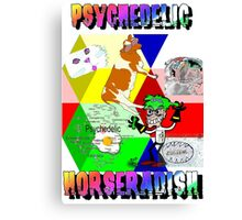 Psychedelic Horseradish Canvas Print