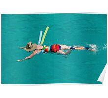 Colorful Watersports Poster