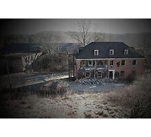 Broken Homes Photographic Print