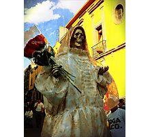 Santa Muerte Photographic Print
