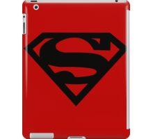 Black Superman Symbol iPad Case/Skin